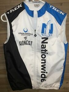 Safetti Cycling Jersey Mens Sleeveless Full Zip Nationwide Size S