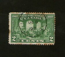 POSTAGE STAMP : CANADA - 1827 - 1927 CONFEDERATION - 2 CENTS - GREEN