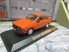 DACIA 1410 Sport 2 Türer Renault 12 orange Limousine IXO Altaya S-Preis 1:43