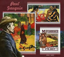 Mozambique 2015 MNH Paul Gaugin 1v S/S Art Paintings Sacred Mountain