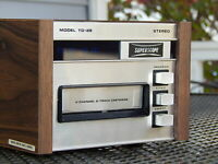 Marantz SuperScope TD-28 8 Track Tape Player - PRO TECH SERVICED - VIDEO DEMO!