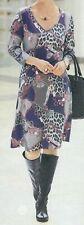 Jerseykleid Kleid Businesskleid Freizeitkleid marine grau 52