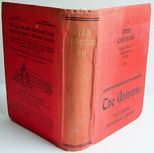 1918 ORBIS CATHOLICUS Rt Rev Mgr Canon Glancey Second Year of Issue Universe HB