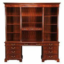 NOF073, Niagara Furniture, Large Credenza, Mahogany Credenza, Large Bookcase