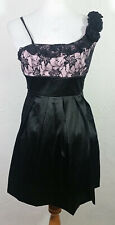 Alyn Paige Juniors Dress Size 5 6 Floral Lace Multicolor Party Tulle Prom Tie