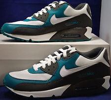 2011 Nike Air Max 90 Midnight Fog White Lush Teal Green SZ 9 RARE ( 325018-059 )