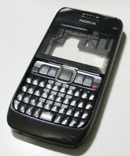 Front Replacement Housing Case Shell With Keypad For Nokia E63(Black)