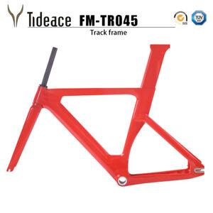 Track Bicycle Fixed Gear Frame Cycling OEM Bike Frameset T800 Carbon Frameset