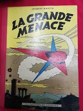 Les Editions du Lombard - Jacques Martin 1954 - TIN TIN La Grande Menace - USED