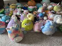 "Squishmallow Overstock Wholesale Lot! Lot Includes Random 12-8"", 5 To 4"" + Micro"