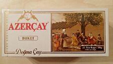 Azercay BUKET - 25 Tea Bags Black Tea, 50g Organic