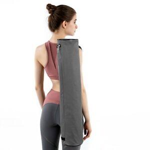 Yoga Mat Bag Full-Zip Exercise Gym Carry Durable Adjustable Shoulder Strap