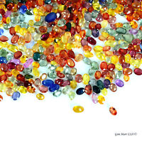 Choose Multi Sapphire Gems Precious Lot Mixed Faceted Cut Loose Natural Gemstone