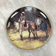 Heritage Foundation Museum Journey Home Plate The Franklin Mint