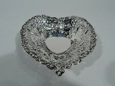 Gorham Dish - 966 - Valentine's Day Heart Bowl Gift - American Sterling Silver