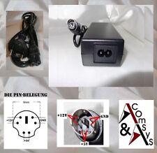 Netzteil 12V 5V 1.5A 2A 2.5A 3A Extern Festplatte HDD Gehäuse Case 6Pin OVP #5U