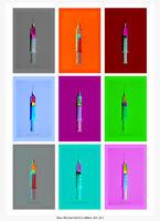 Tehos - art contemporain - edition limitée sur papier d'art - Push for .. signé