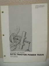 CATERPILLAR 627B TRACTOR POWER TRAIN DISASSEMBLY ASSEMBLY MANUAL SENR-7572-01