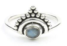 Noida Labradorite Ring, Sterling Silver Labradorite Ring, Stone Jewelry