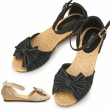 Ankle Strap Synthetic Multi-Colored Sandals & Flip Flops for Women