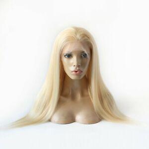 """Lucia Echthaar Full Lace-Wig / Weiß blonde """"by Estrella"""" (Perücke, Haarteil)"""