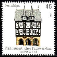 2861 postfrisch BRD Bund Deutschland Briefmarke Jahrgang 2011