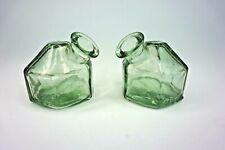 Set of 2 Vintage Green Par A Sol Ink Well Denver Co. Usa 2000