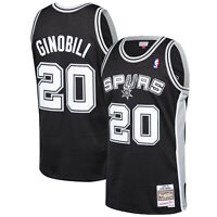 San Antonio Spurs Mitchell and Ness Classics Road Swingman Jersey Manu Ginobili