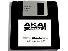 Akai MPC 2000XL Operating System Disk OS Ver 1.20 Floppy Disk