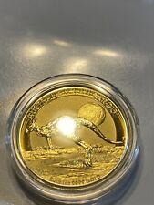2015 Perth Mint 1 oz Gold Australian Kangaroo $100 Gold Coin .9999 Fine BU