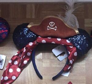 Disney Parks Pirates Ear Headband New With Tags