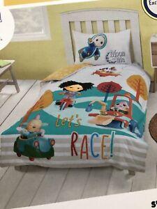 NEXT*CBeebies Moon & and Me Pepi Nana Moon Baby Duvet Cover Toddler/Cot Bed Set