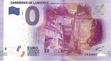 BILLET TOURISTIQUE - 0 EURO - UEDH 2016-2 CARRIERES DE LUMIERES