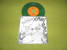 """X-Ray Pop - Alcool RARE France Limited Edition Numbered (501) Green Vinyl 7"""" EX"""