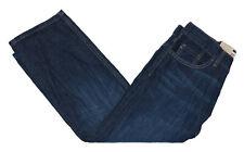 Levi's 505 Sz 8 Husky Boys 28Wx23L Adjustable Waist Straight Leg Denim Jeans NWT