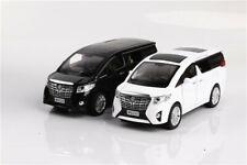 1:24 Toyota Alphard Diecast Model Car Toy Light Sound Pullback