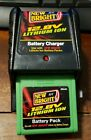 New Bright 12.8V R/C Radio Car Battery Charger Lithium Ion W/ Battery Tested