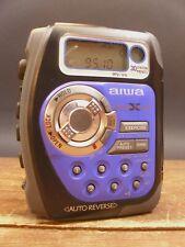 Vintage Aiwa Cross X Trainer Sp570 Am/Fm Sports Cassette Player
