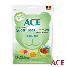 ACE SOFT CANDY Q Sugar Free Gummies MADE IN BELGIUM