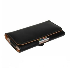 Belt Clip Leather Flip Holster Belt Pouch For iPhone 12 13 Pro & Samsung Galaxy