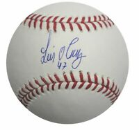 Luis Cruz Hand Signed Autographed MLB Baseball Los Angeles Dodgers W/ COA