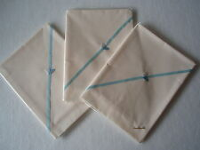 Baby bedding One Handmade Polyester Cotton Cream Flat sheet-crib/pram/moses