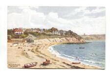 A R Quinton - Falmouth, Bathing Beach - J Salmon postcard No. 2319