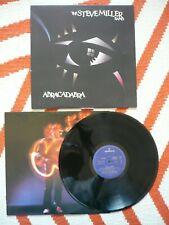 The Steve Miller Band Abracadabra Vinyl UK 1982 Mercury 1st Press A1/B1 LP EXC