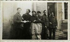 PHOTO ANCIENNE - VINTAGE SNAPSHOT -MILITAIRE POSTE POSTIER FACTEUR COURRIER 1939