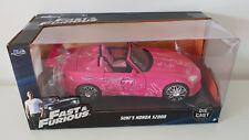 1:24 Scale JADA Fast and Furious Suki's Honda S2000 - Pink