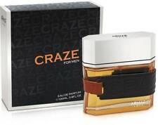 Armaf Craze Perfume For Men 3.4oz/100ml Eau De Parfum Luxury French Fragrance