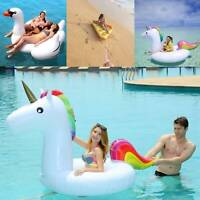 Water Float Raft Giant Inflatable Swimming Pool Lounger Beach Fun Sports Toy New