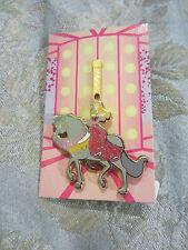 Disney Glitter Princess Carousel Horse Sleeping Beauty Aurora Mystery Pin