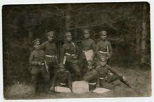 Bulgaria Military Officers & Maps ? WWI ? Vintage Photo Postcard